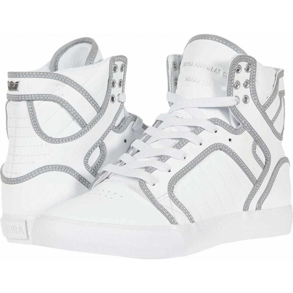 スープラ Supra メンズ シューズ・靴 【Skytop】White/Reflect/White