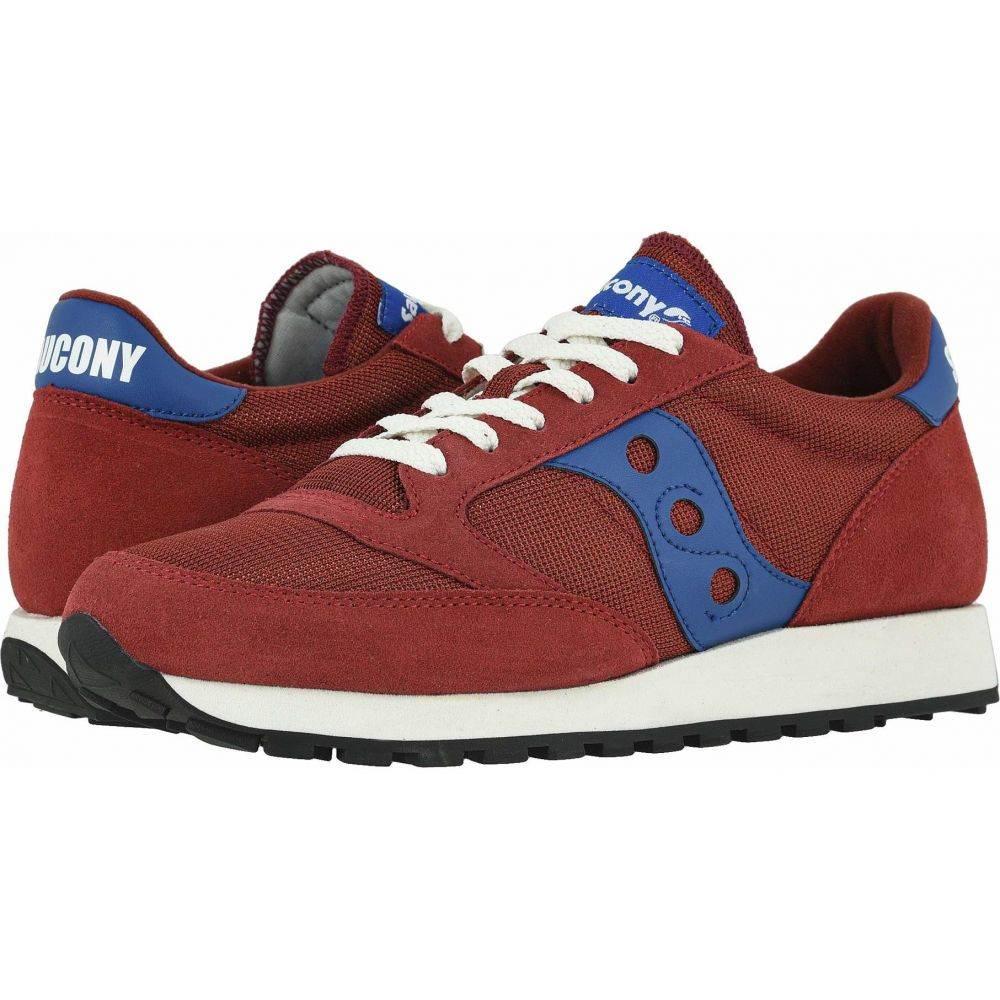 サッカニー Saucony Originals メンズ スニーカー シューズ・靴【Jazz Original Vintage】Red/Blue