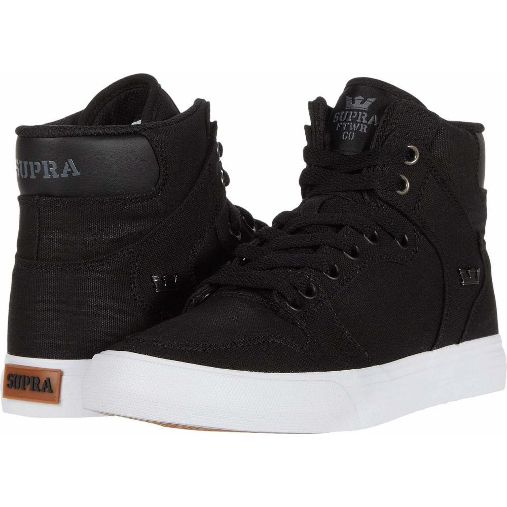 スープラ Supra メンズ シューズ・靴 【Vaider】Black/White/Gum
