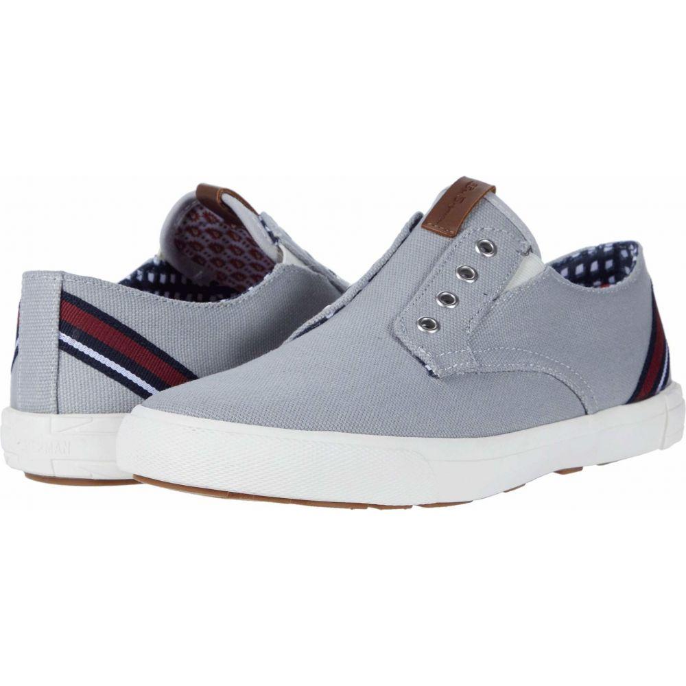 ベンシャーマン Ben Sherman メンズ スニーカー シューズ・靴【Pete Laceless】Light Grey Cotton