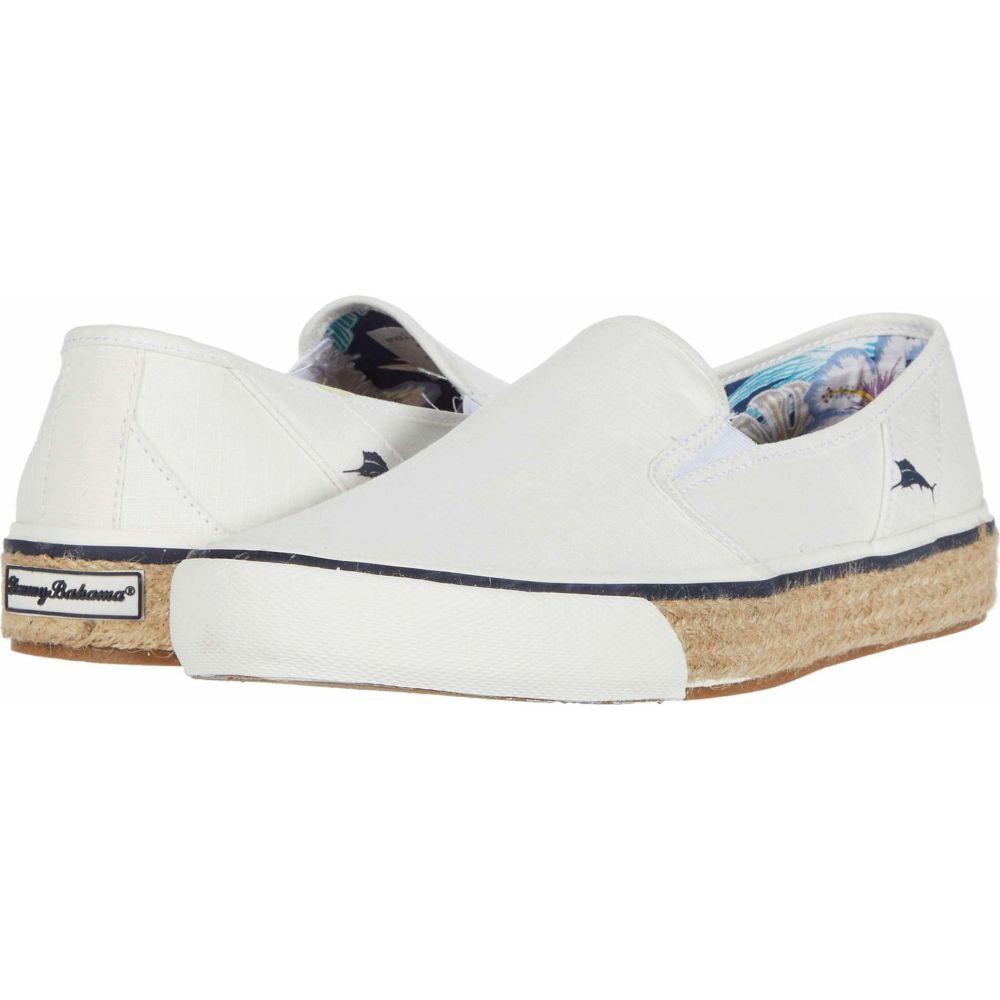 トミー バハマ Tommy Bahama メンズ スニーカー シューズ・靴【Pacific Palms】White