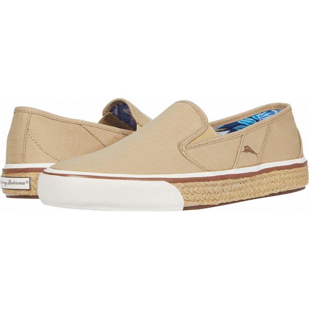 トミー バハマ Tommy Bahama メンズ スニーカー シューズ・靴【Pacific Palms】Tan Ripstop