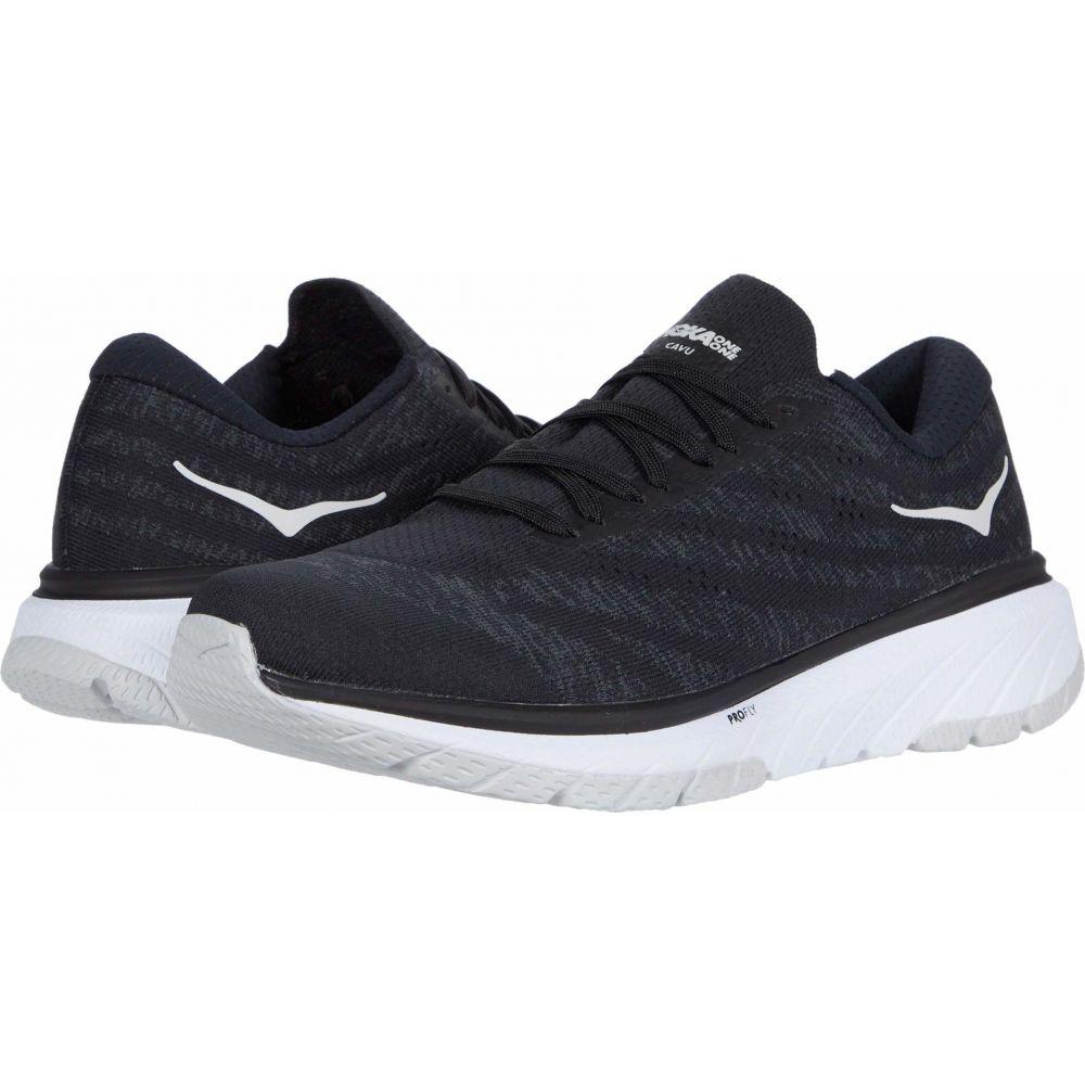 ホカ オネオネ Hoka One One メンズ ランニング・ウォーキング シューズ・靴【Cavu 3】Black/White