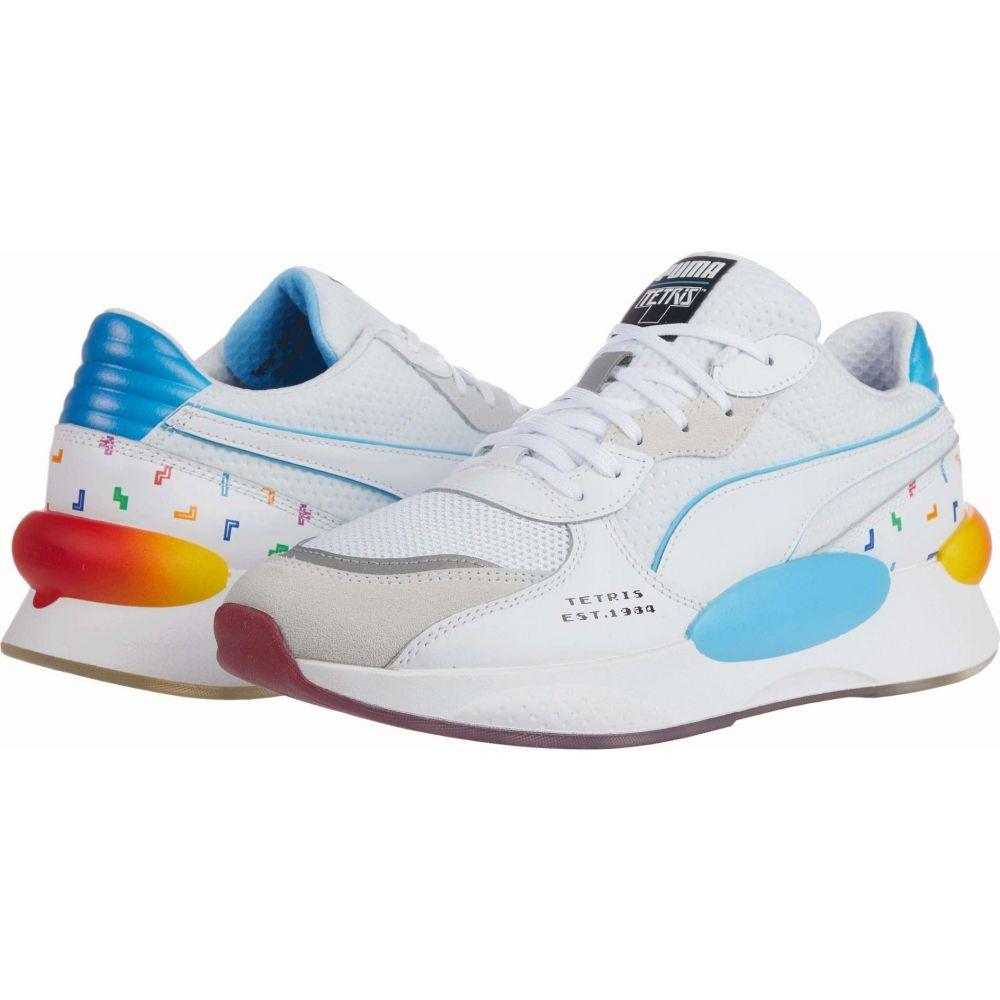 プーマ PUMA メンズ スニーカー シューズ・靴【RS 9.8 Tetris】White/Blue
