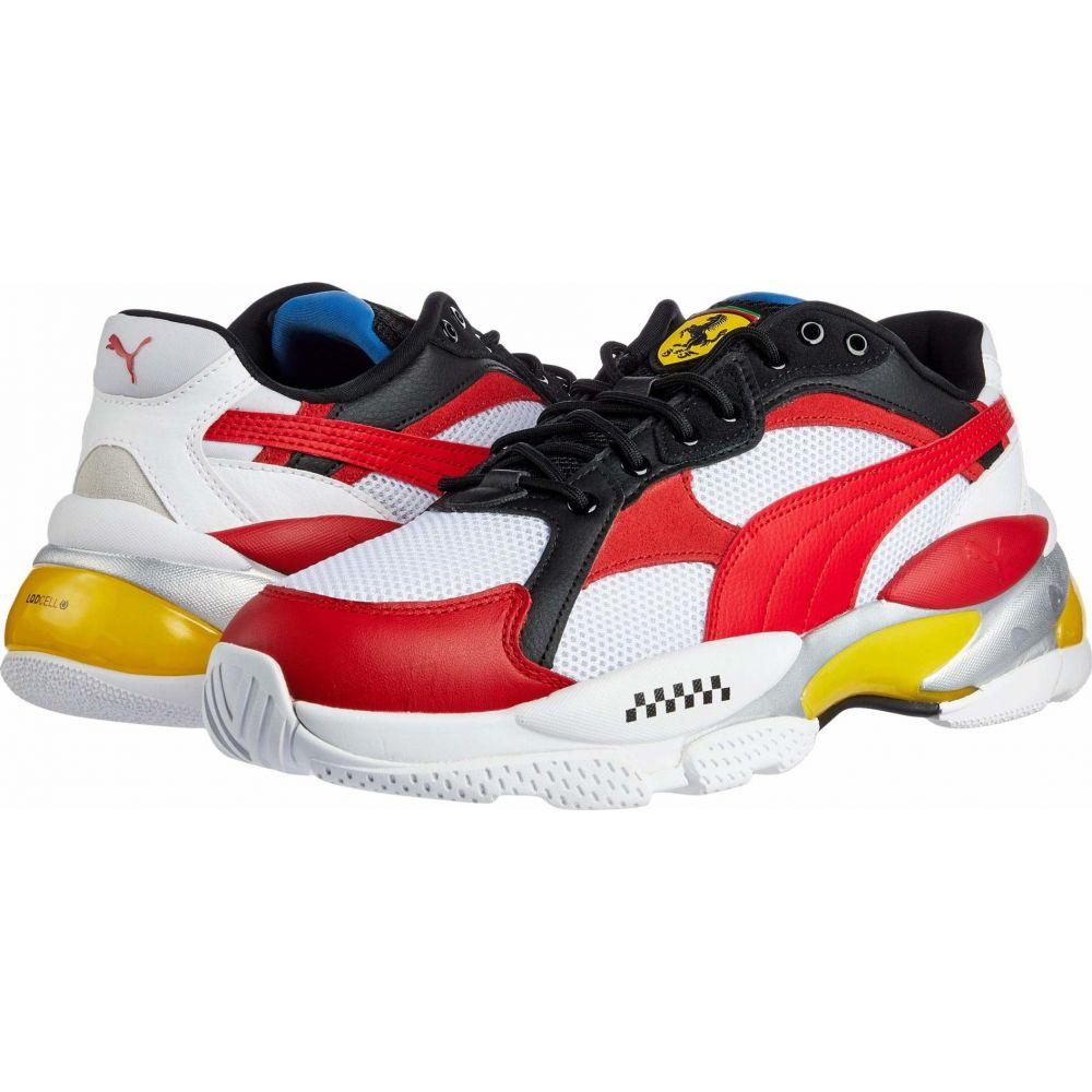 プーマ PUMA メンズ スニーカー シューズ・靴【Scuderia Ferrari LQDCELL Epsilon】Puma White/Rosso Corsa/Vibrant Yellow