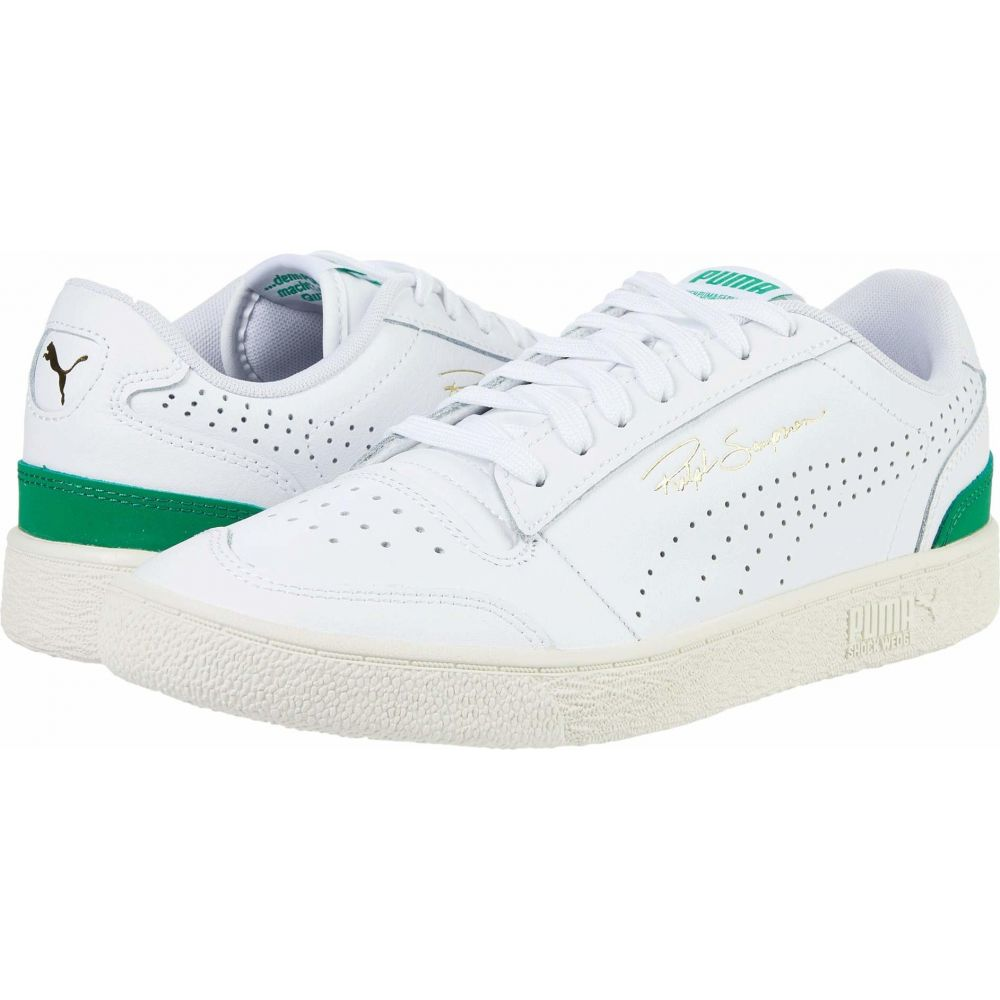 プーマ PUMA メンズ スニーカー シューズ・靴【Ralph Sampson Lo Perf】Puma White/Amazon Green/Whisper White