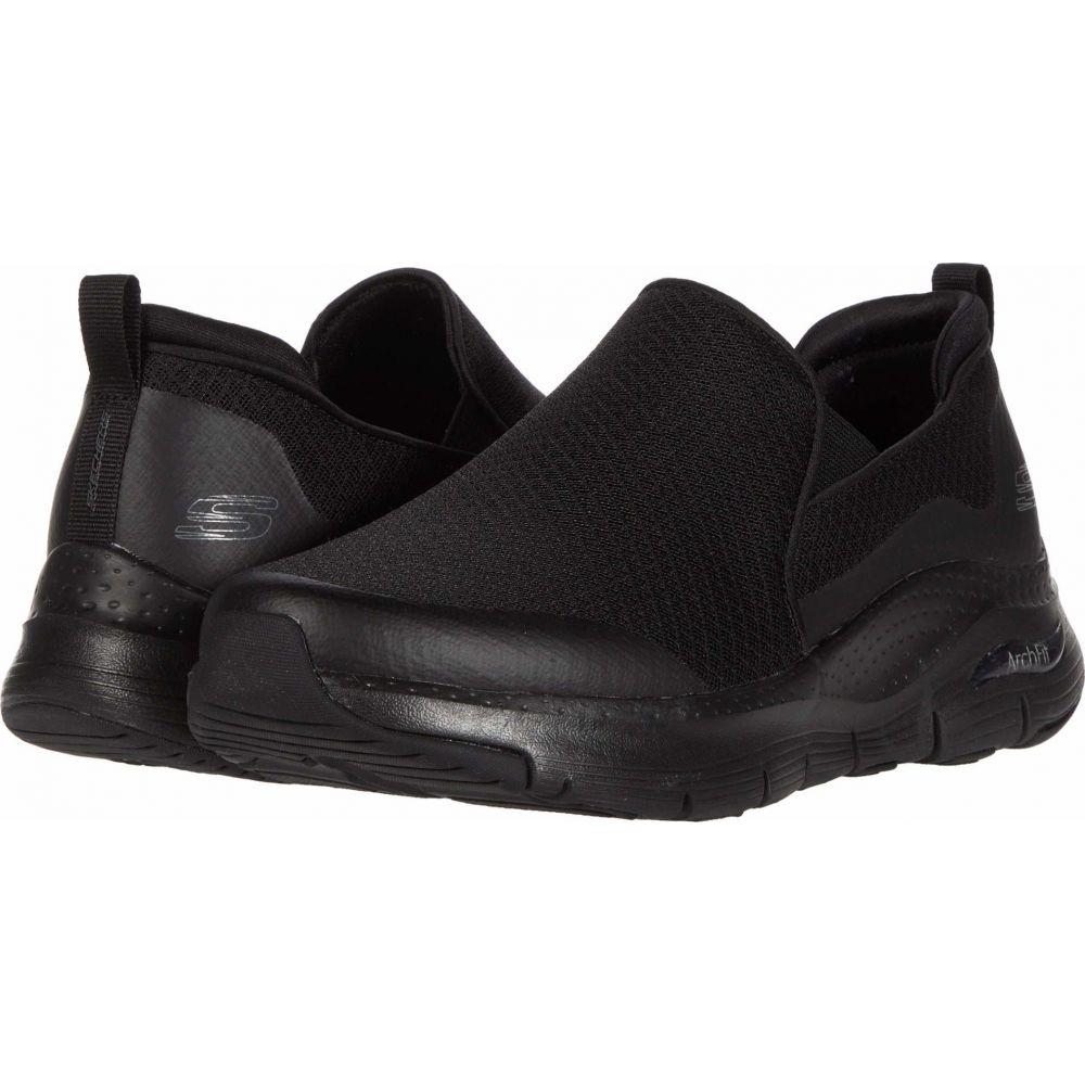 スケッチャーズ SKECHERS メンズ スニーカー シューズ・靴【Arch Fit Banlin】Black/Black