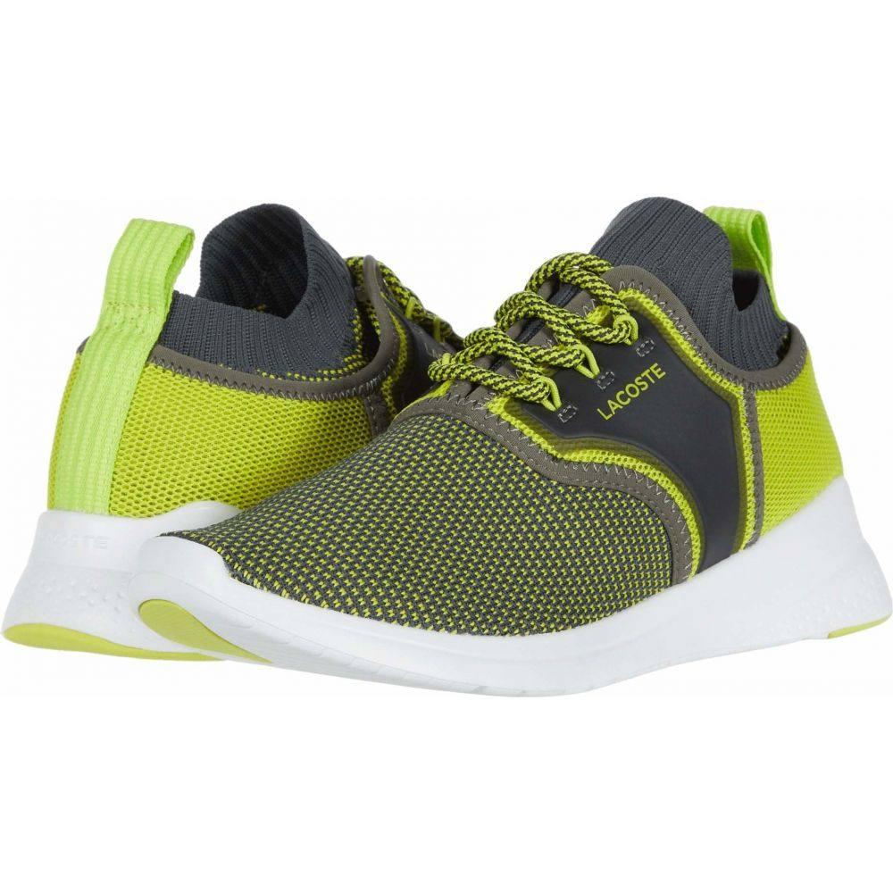 ラコステ Lacoste メンズ スニーカー シューズ・靴【LT Sense 220 1】Dark Grey/Yellow