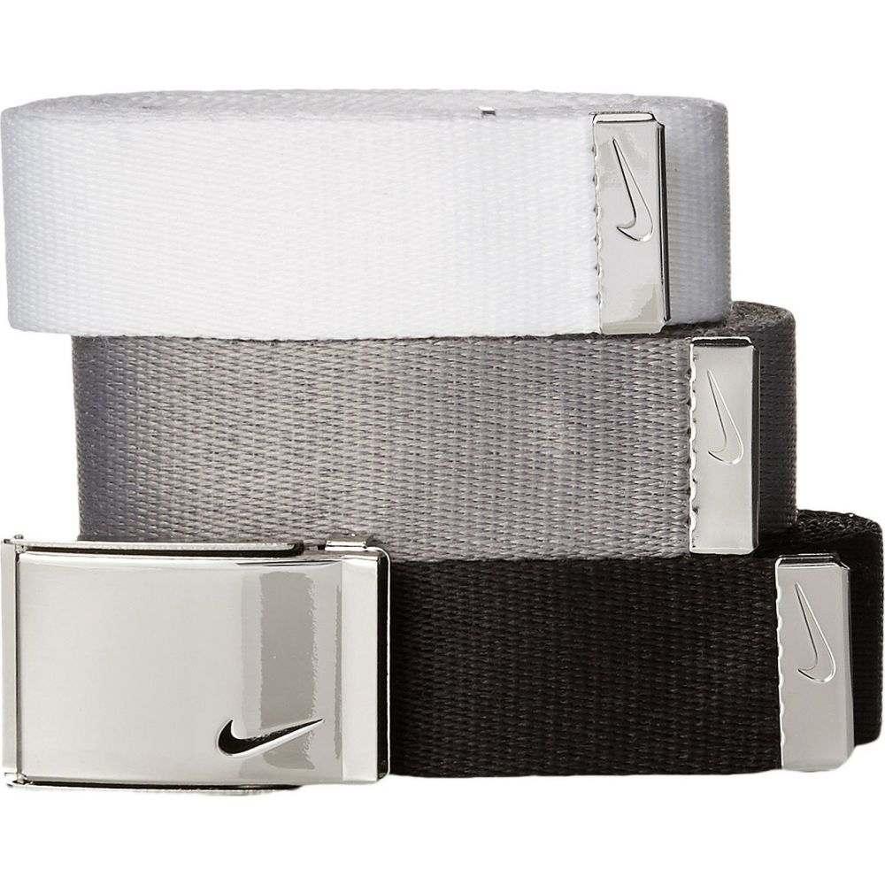 ナイキ Nike レディース ベルト 【3-in-1 Web Pack】Black/White/Grey
