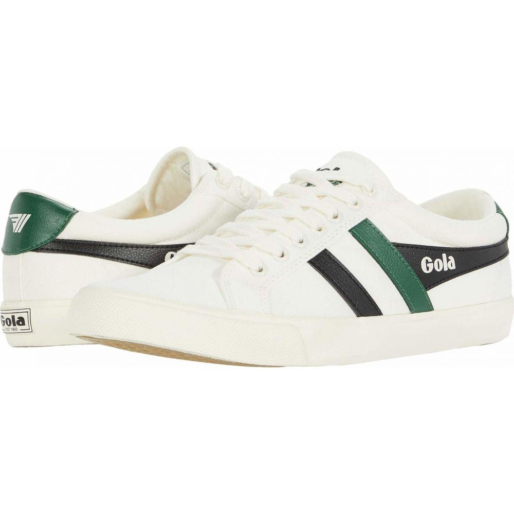ゴーラ Gola メンズ スニーカー シューズ・靴【Varsity】Off-White/Black/Dark Green