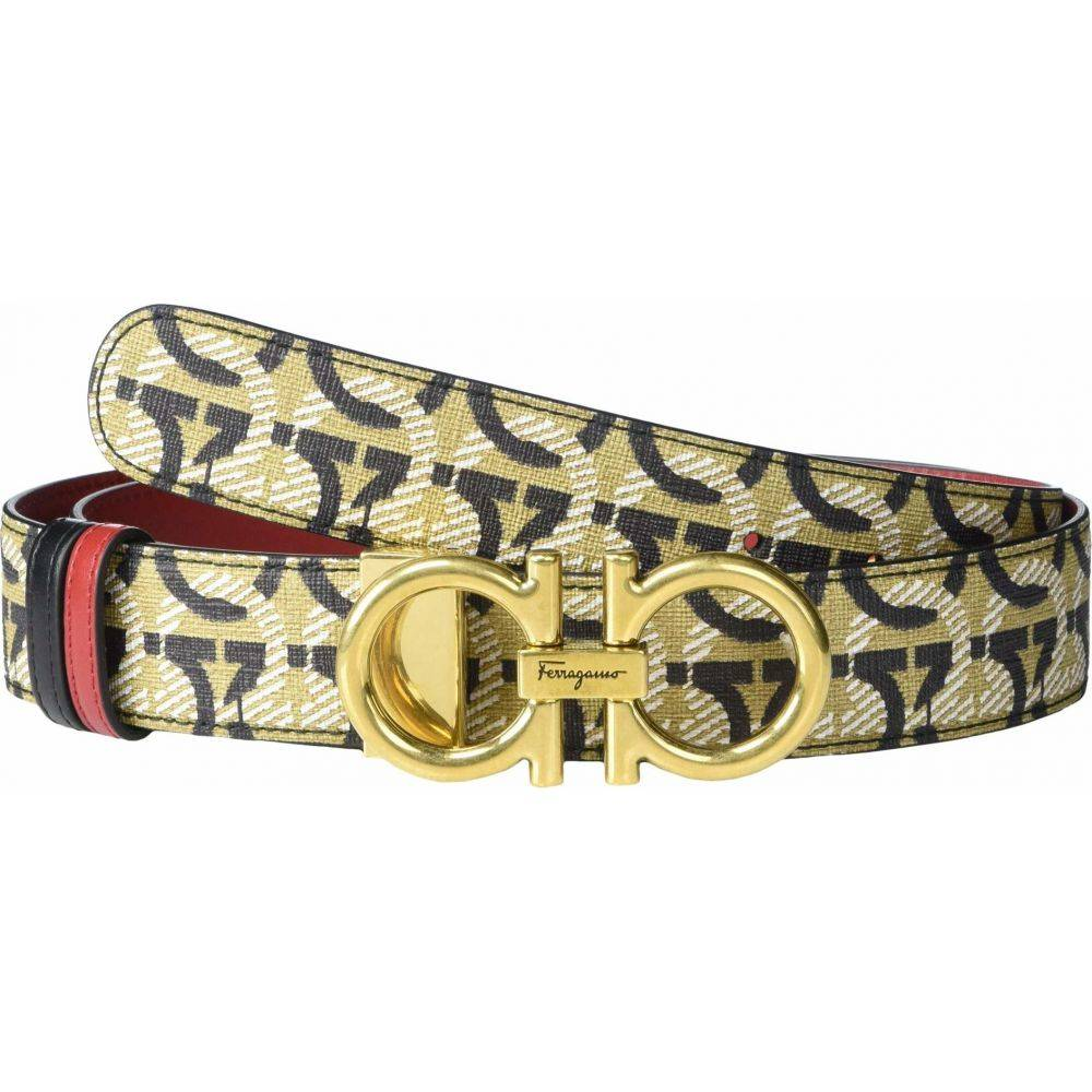 サルヴァトーレ フェラガモ Salvatore Ferragamo レディース ベルト 【All Gancini 2.5 Adjustable Belt】All Gancini Print