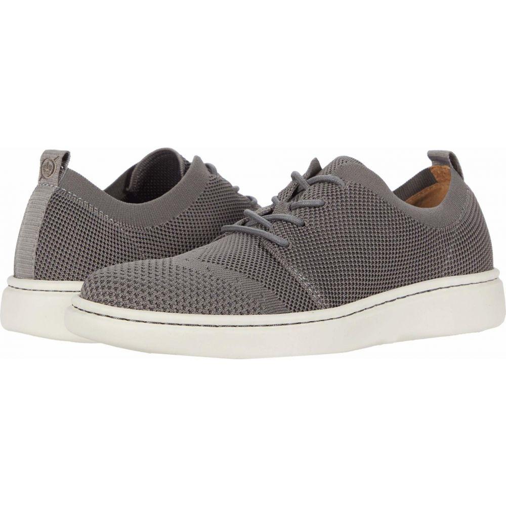 ボーン Born メンズ スニーカー シューズ・靴【Fade Knit】Grey Knit Fabric