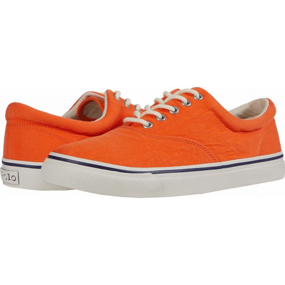 ラルフ ローレン Polo Ralph Lauren メンズ スニーカー シューズ・靴【Harpoon】Orange Washed Canvas
