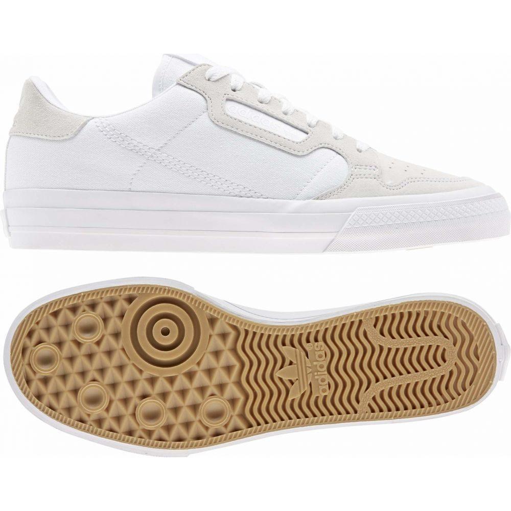 アディダス adidas Skateboarding メンズ スニーカー シューズ・靴【Continental Vulc】Footwear White/Footwear White/Footwear White