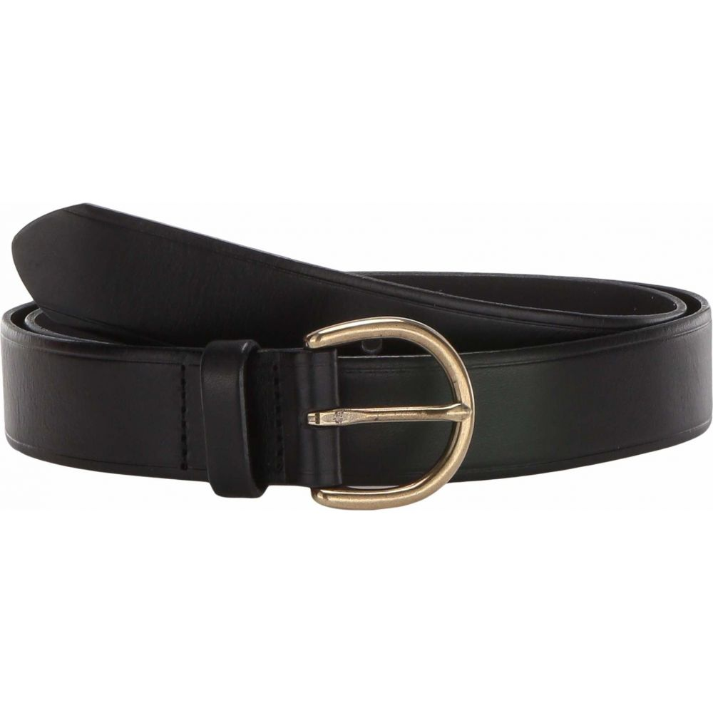 メイドウェル Madewell レディース ベルト 【Medium Perfect Leather Belt】True Black