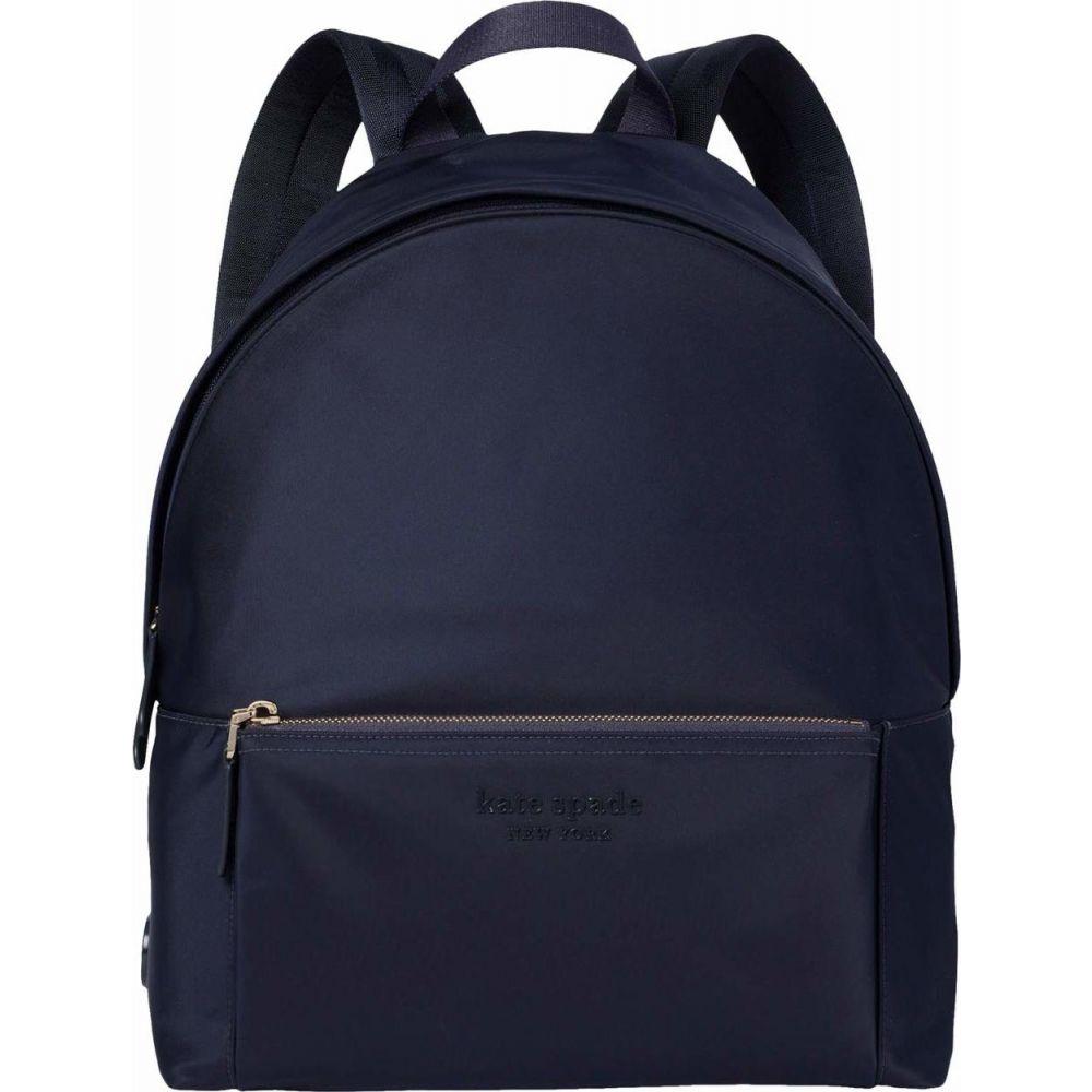 ケイト スペード Kate Spade New York レディース バックパック・リュック バッグ【The Nylon City Pack Large Backpack】Rich Navy