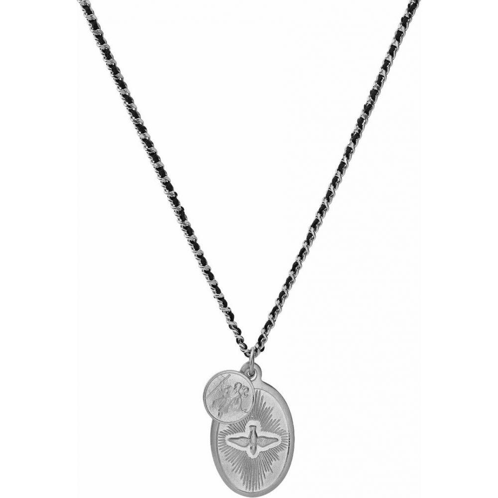 ミアンサイ Miansai メンズ ネックレス ジュエリー・アクセサリー【Dove Pendant Necklace On 2 mm Woven Chain】