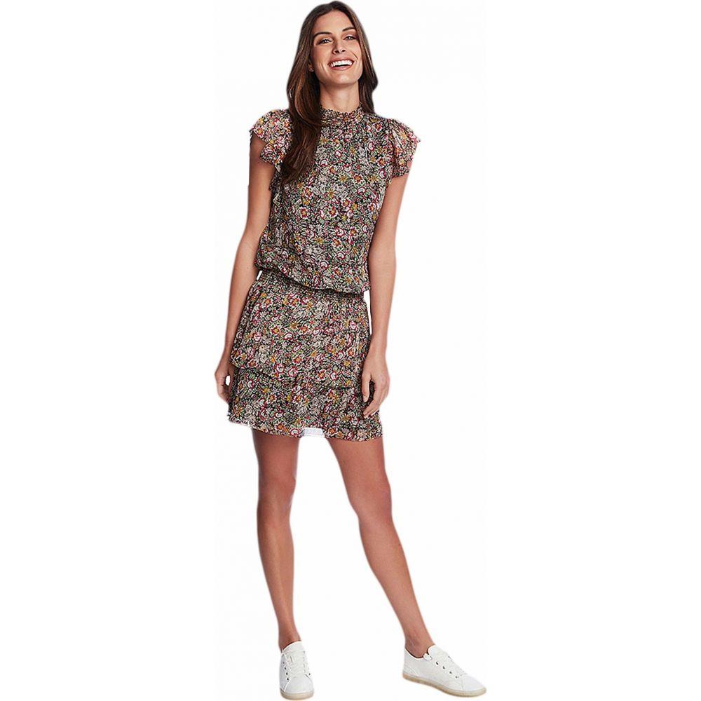 ワンステート 1.STATE レディース ワンピース ティアードドレス ワンピース・ドレス【Forest Gardens High Neck Tiered Dress】Rich Black Multi