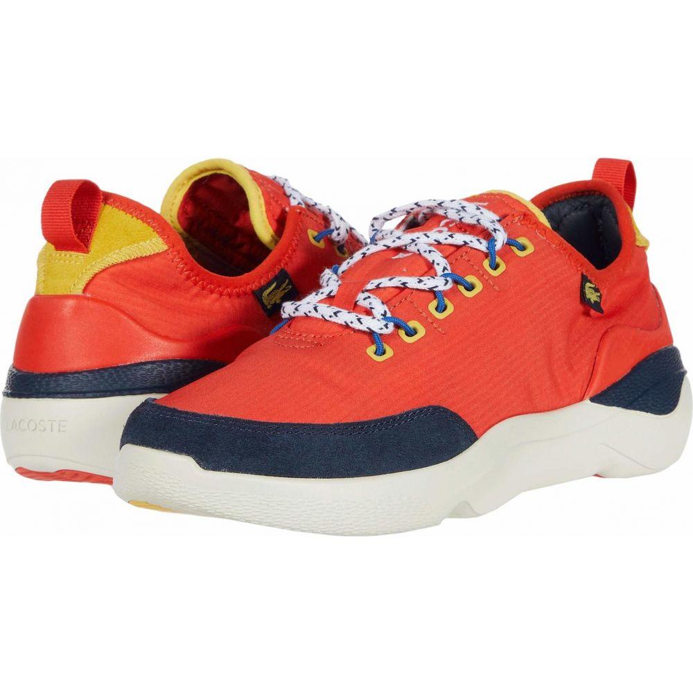 ラコステ Lacoste メンズ スニーカー シューズ・靴【Subra Impact 220 3】Orange/Navy