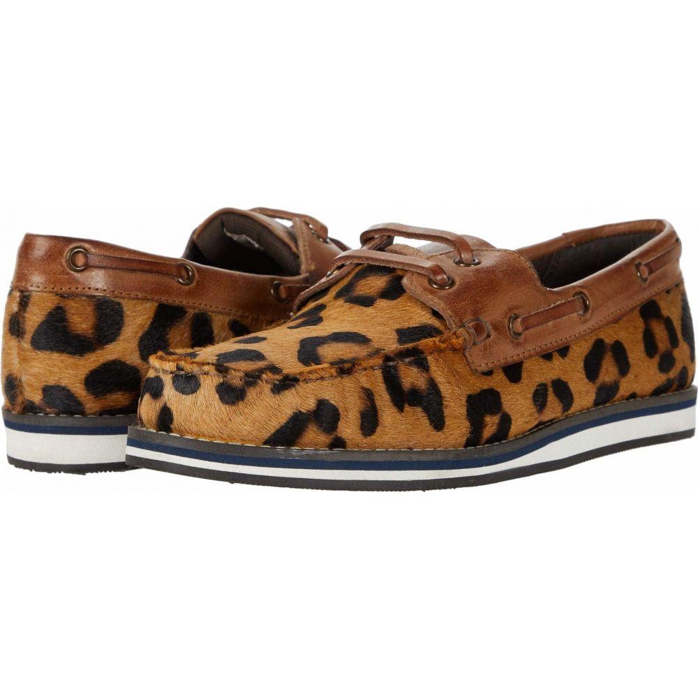 ローパー Roper レディース シューズ・靴 【Filly】Tan Leopard Hair on Hide/Burnished Tan Leather Accents