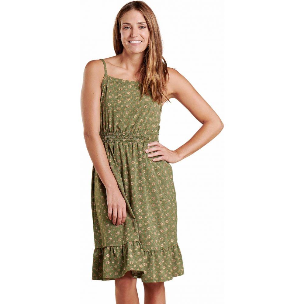 トードアンドコー Toad&Co レディース ワンピース ワンピース・ドレス【Sunkissed Bella Dress】Bronze Green Medium Bandana Print