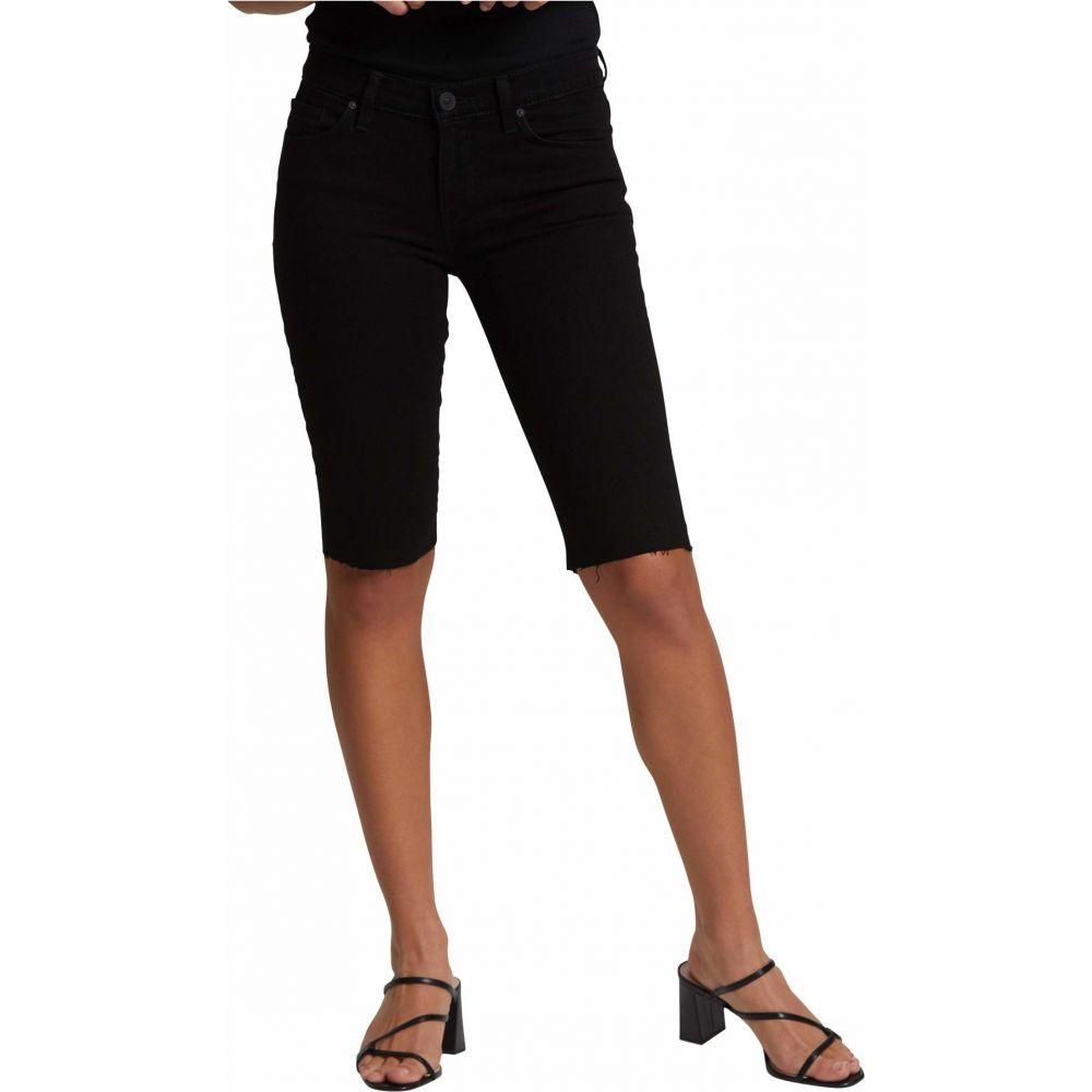 ハドソンジーンズ Hudson Jeans レディース ショートパンツ ボトムス・パンツ【Amelia Cutoffs Knee Shorts in Black】Black