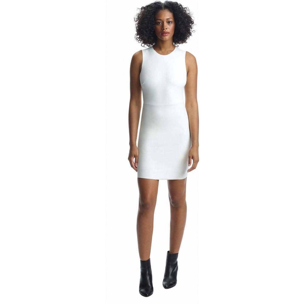 コマンドー Commando レディース ワンピース ワンピース・ドレス【Faux Leather Signature Dress FLD02】White