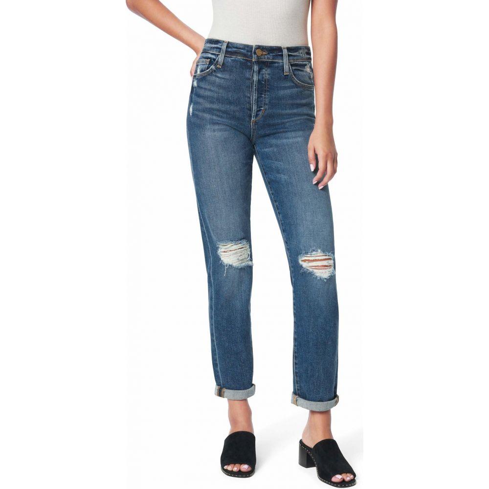 ジョーズジーンズ Joe's Jeans レディース ジーンズ・デニム ボーイフレンドデニム ボトムス・パンツ【Niki Boyfriend Raw Hem Single Cuff Jeans in Banjo】Banjo