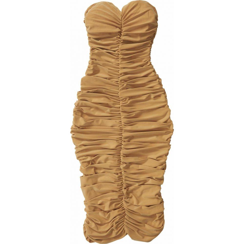 ノーマ カマリ KAMALIKULTURE by Norma Kamali レディース ワンピース ワンピース・ドレス【Slinky To Knee】Nude
