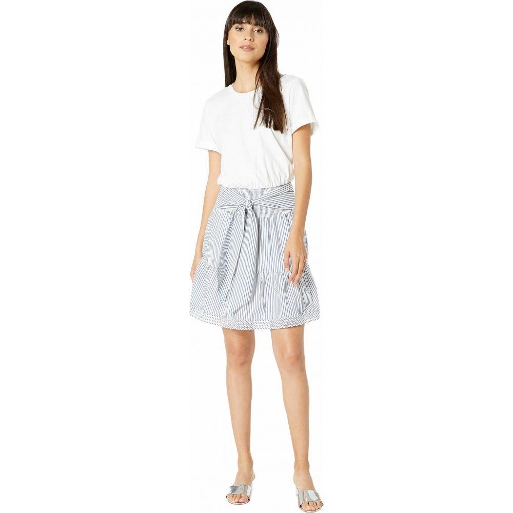 パーカー Parker レディース ワンピース ワンピース・ドレス【Fleur Combo Dress】Azure Stripe