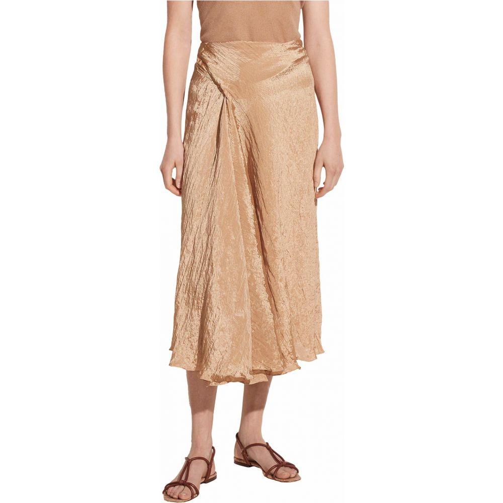 ヴィンス Vince レディース スカート 【Textured Drape Skirt】Sun Khaki