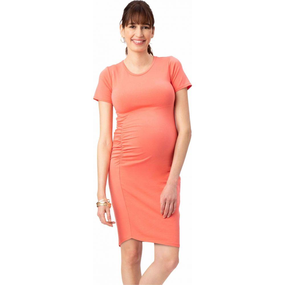 ストゥアウェイ コレクション Stowaway Collection Maternity レディース ワンピース マタニティウェア ワンピース・ドレス【Uptown Maternity Dress】Coral