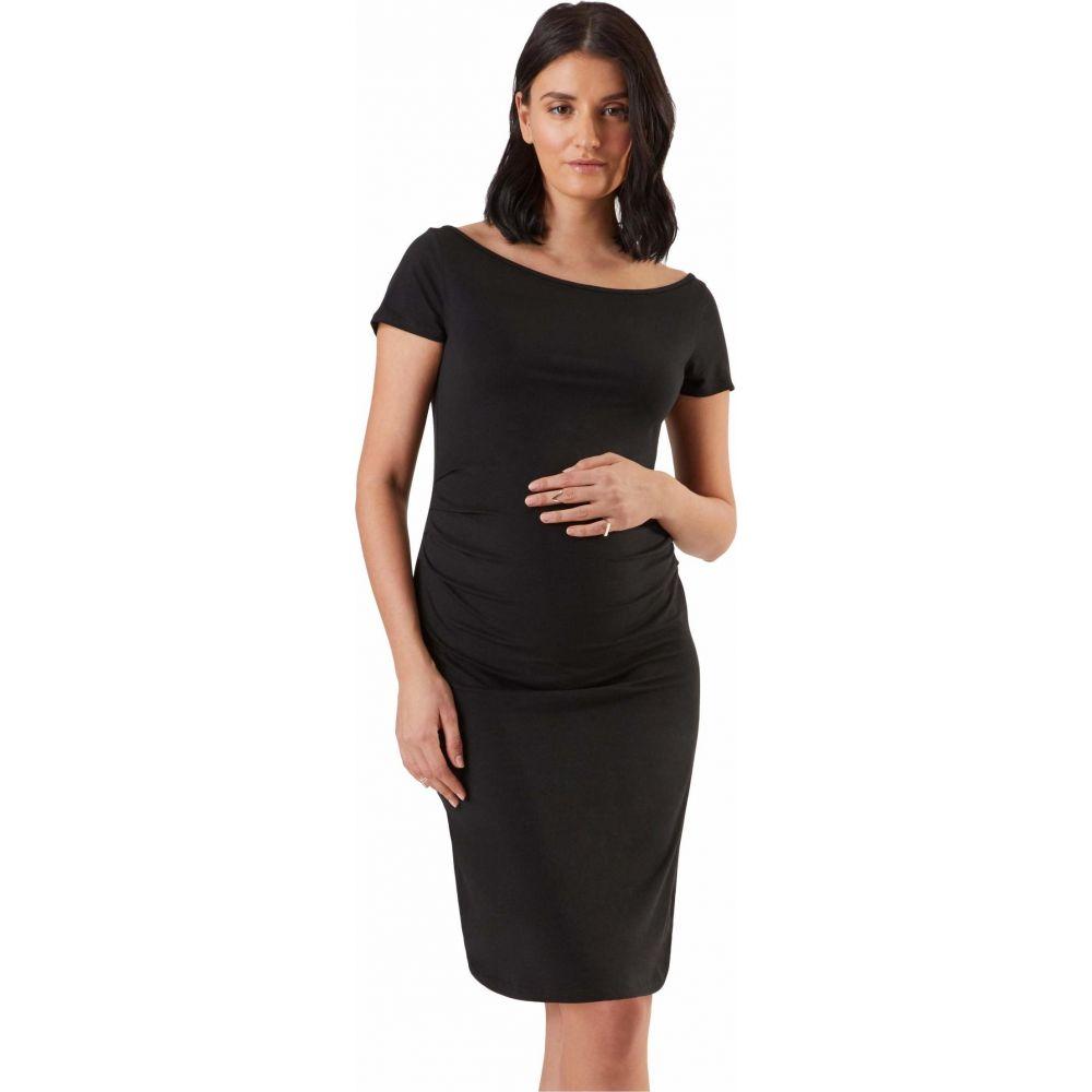 ストゥアウェイ コレクション Stowaway Collection Maternity レディース ワンピース マタニティウェア ワンピース・ドレス【Ballet Maternity Dress】Black