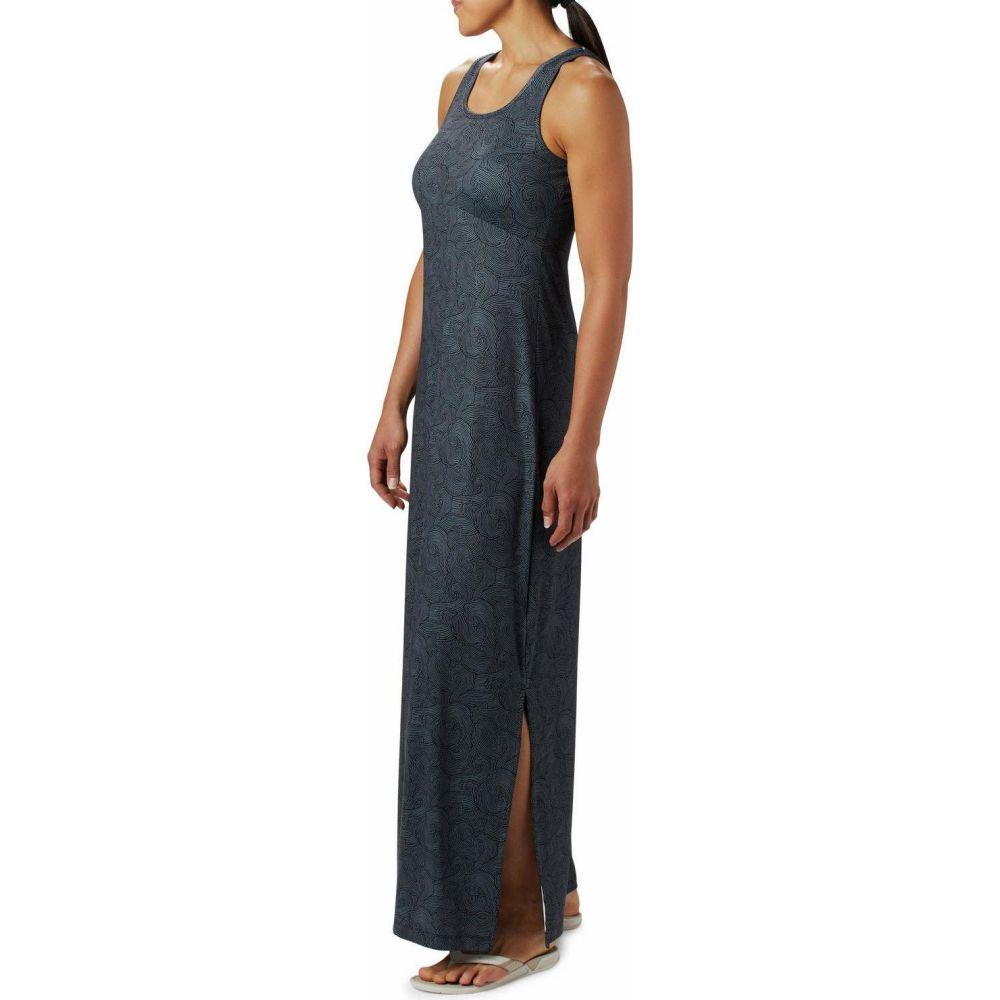 コロンビア Columbia レディース ワンピース マキシ丈 ワンピース・ドレス【Freezer(TM) Maxi Dress】Black Seaside Swirls
