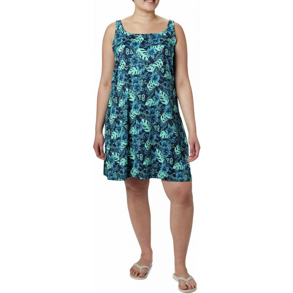 コロンビア Columbia レディース ワンピース 大きいサイズ ワンピース・ドレス【Plus Size Freezer III Dress】Dolphin Vacation Vibes