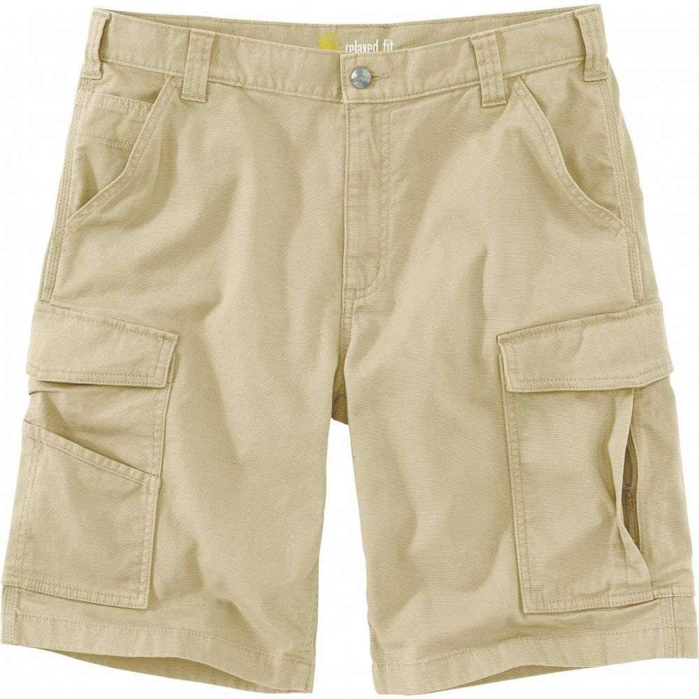 カーハート Carhartt メンズ ショートパンツ 大きいサイズ カーゴ ボトムス・パンツ【Big & Tall Rugged Flex Rigby Cargo Shorts】Dark Khaki