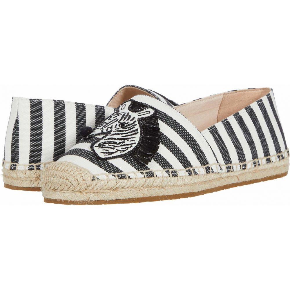 New Kate シューズ・靴【Garden スペード Zebra】Black/White ローファー・オックスフォード レディース York Spade ケイト