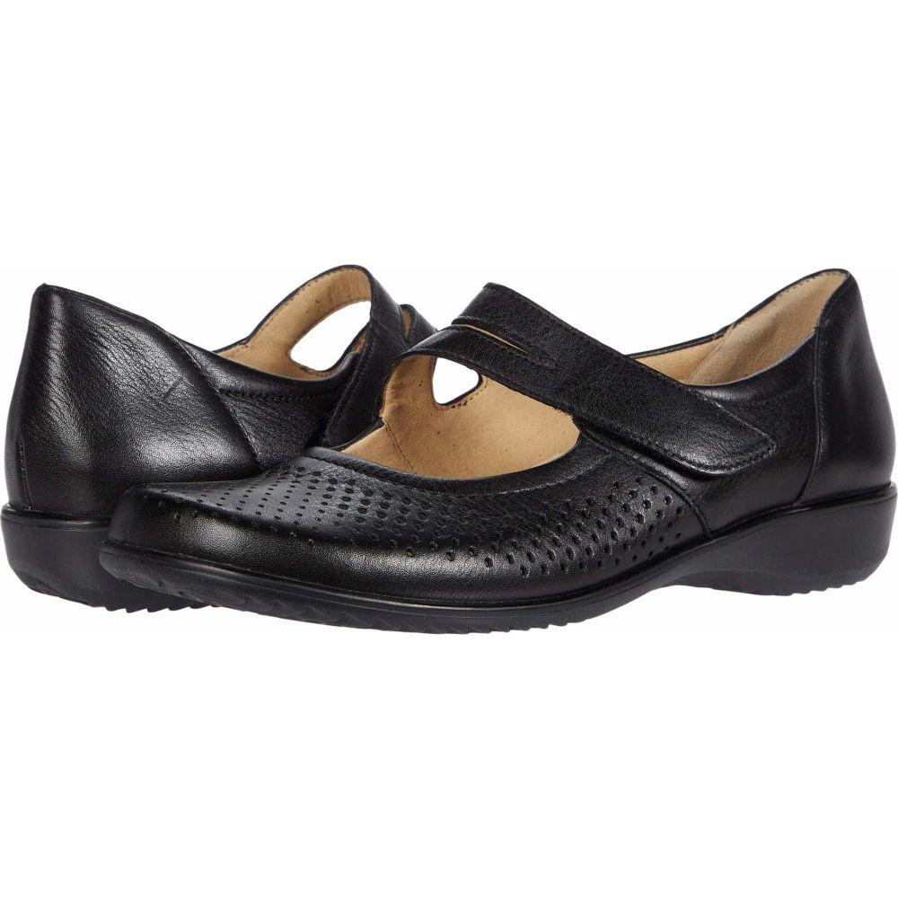 アラ ara レディース スリッポン・フラット シューズ・靴【Auburn】Black Gauchosoft