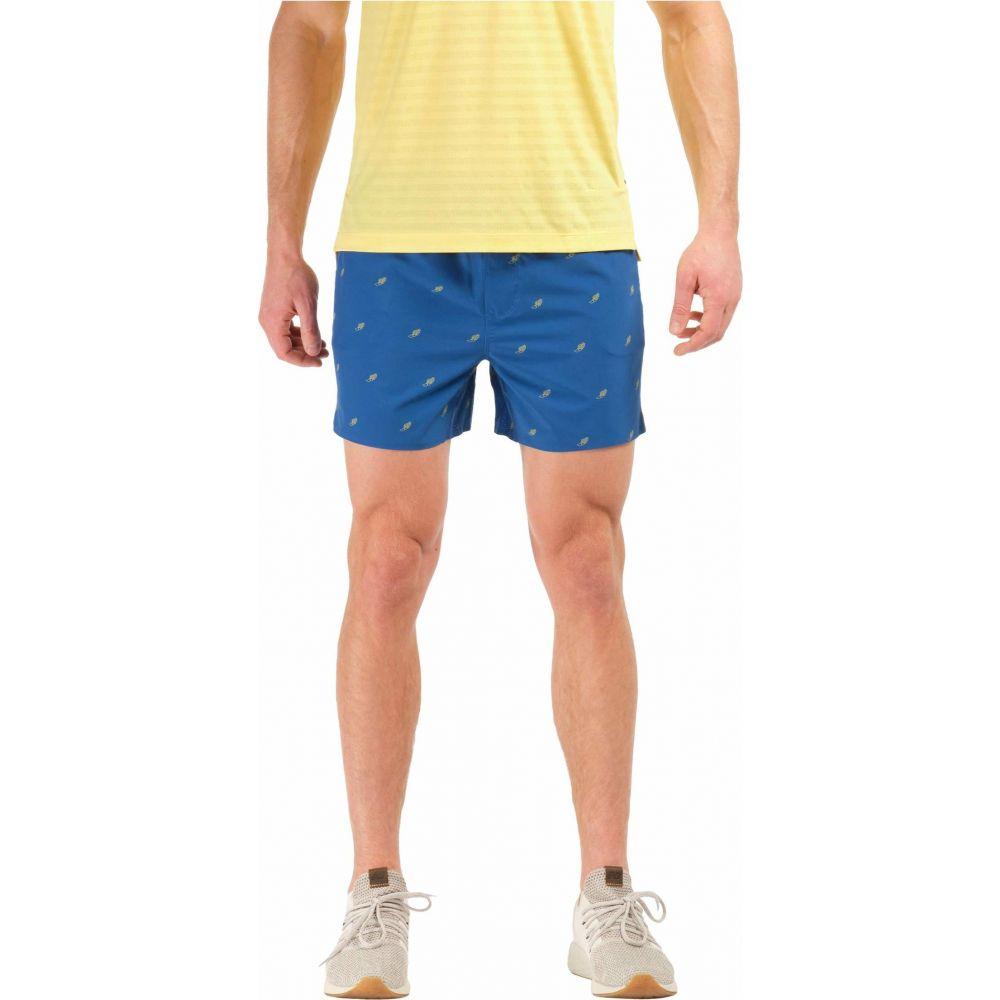 ローヌ Rhone メンズ ショートパンツ ボトムス・パンツ【5' Swift Shorts-Lined】Galaxy Blue/Snapdragon