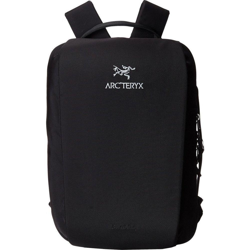 アークテリクス Arc'teryx レディース バックパック・リュック バッグ【Blade 6 Backpack】Black