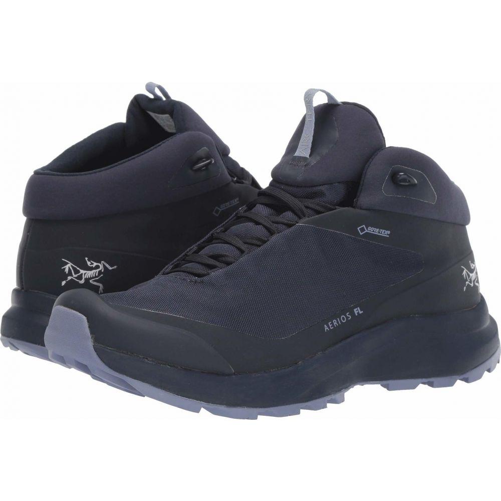 アークテリクス レディース ハイキング 登山 シューズ 靴 Black Sapphire Aerios Arc'teryx セール開催中最短即日発送 Binary GTX サイズ交換無料 Mid FL 在庫処分