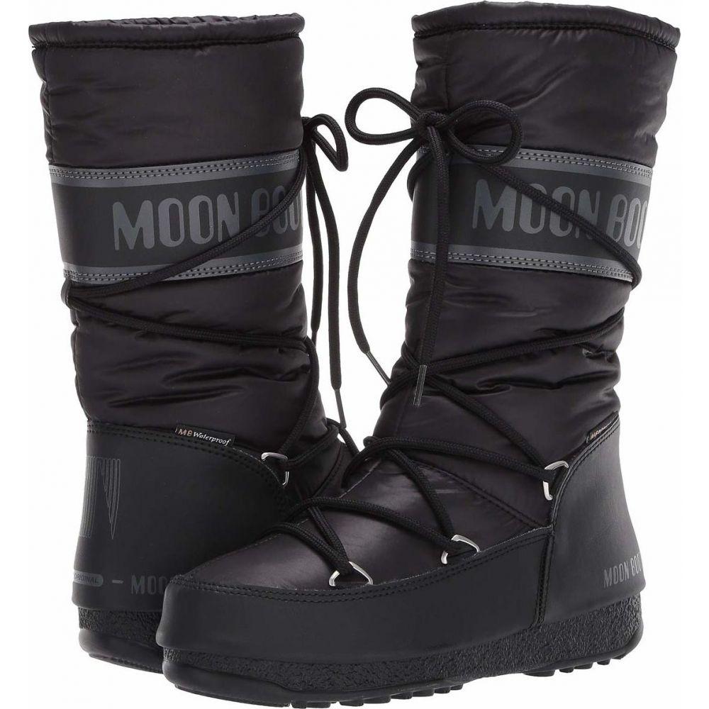 ムーンブーツ MOON BOOT レディース ブーツ シューズ・靴【Moon Boot High Nylon WP】Black