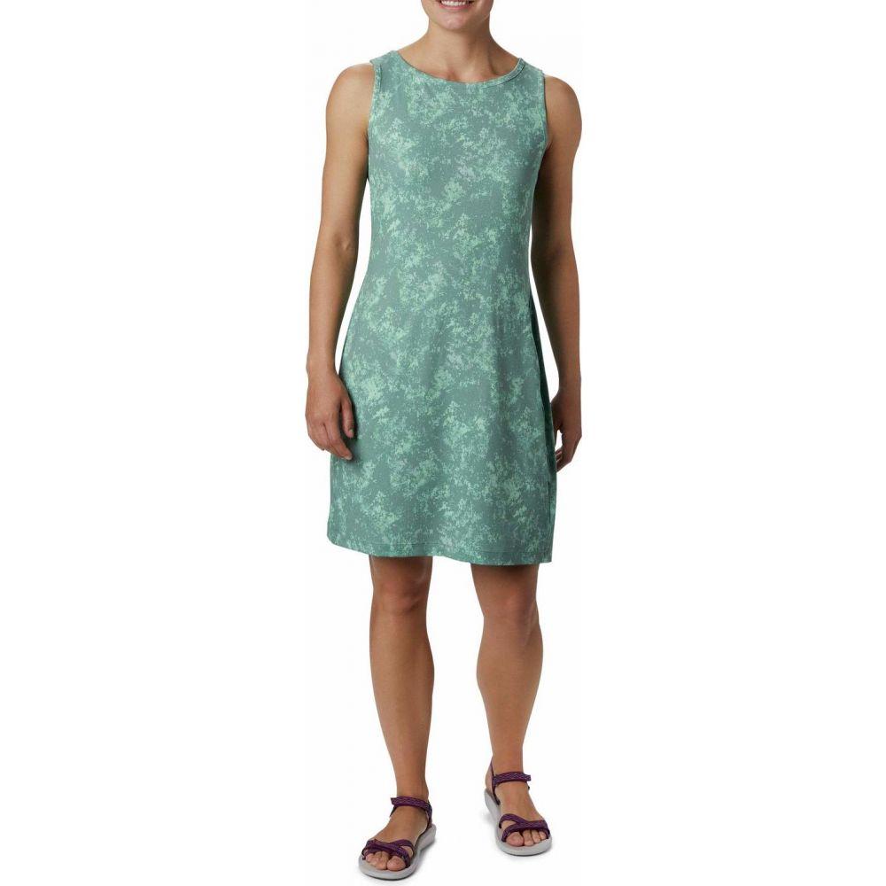 コロンビア Columbia レディース ワンピース ワンピース・ドレス【Chill River(TM) Printed Dress】Light Lichen/Light Lichen Rubbed Texture