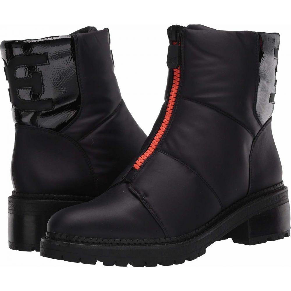 サム エデルマン Sam Edelman レディース ブーツ シューズ・靴【Jalissa】Black WP Classic Nylon/Heavy Crinkle Patent Leather