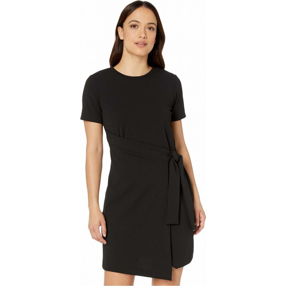 マイケル コース MICHAEL Michael Kors レディース ワンピース ラップドレス ワンピース・ドレス【Petite T-Shirt Wrap Dress】Black