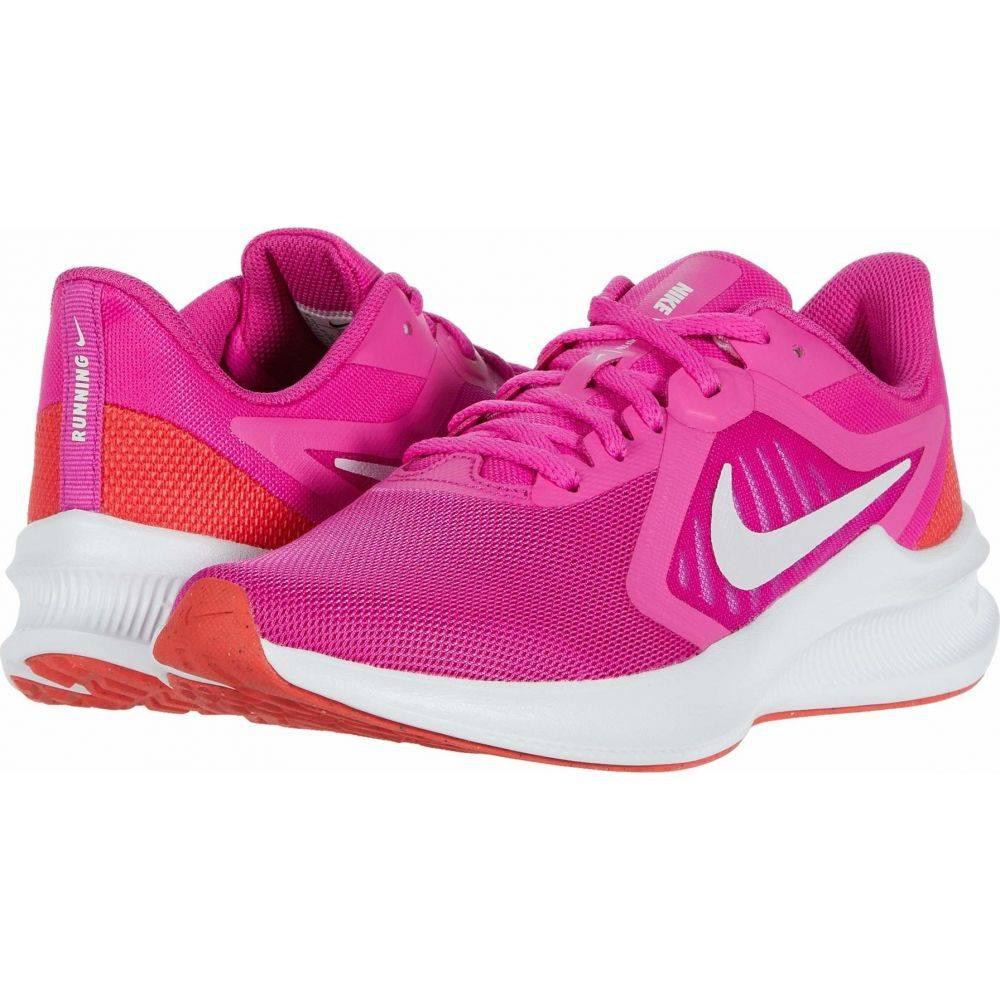 ナイキ Nike レディース ランニング・ウォーキング シューズ・靴【Downshifter 10】Fire Pink/Summit White/Ember Glow/White