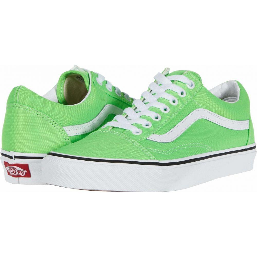 ヴァンズ Vans レディース シューズ・靴 【Old Skool(TM)】Green Gecko/True White