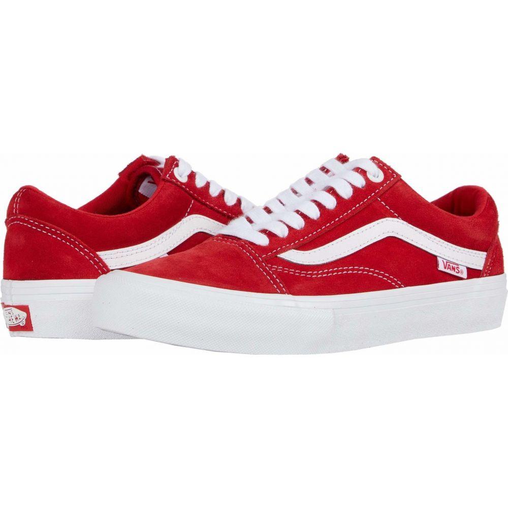 ヴァンズ Vans レディース シューズ・靴 【Old Skool Pro】Red/White