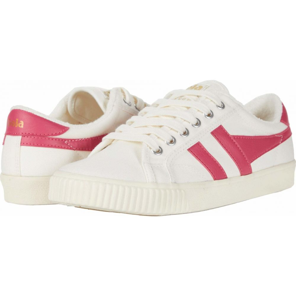 ゴーラ Gola レディース テニス シューズ・靴【Tennis - Mark Cox】Off-White/Fluro Pink