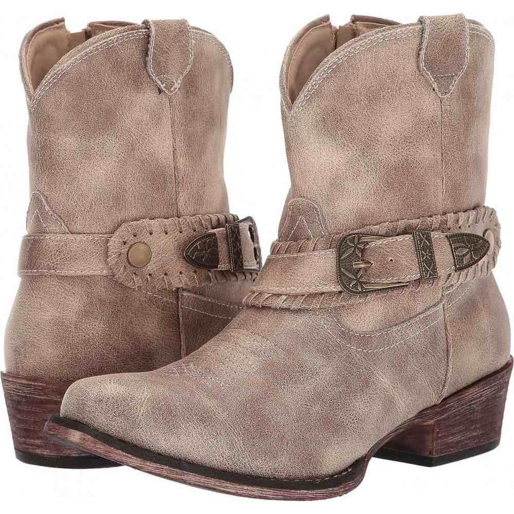 ローパー Roper レディース ブーツ シューズ・靴【Nelly】Vintage Beige Faux Leather